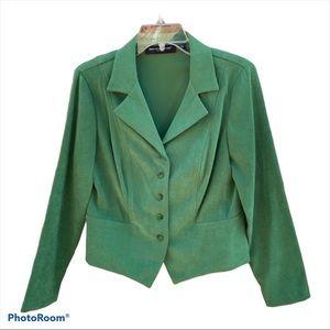Briggs New York Green Dress Jacket